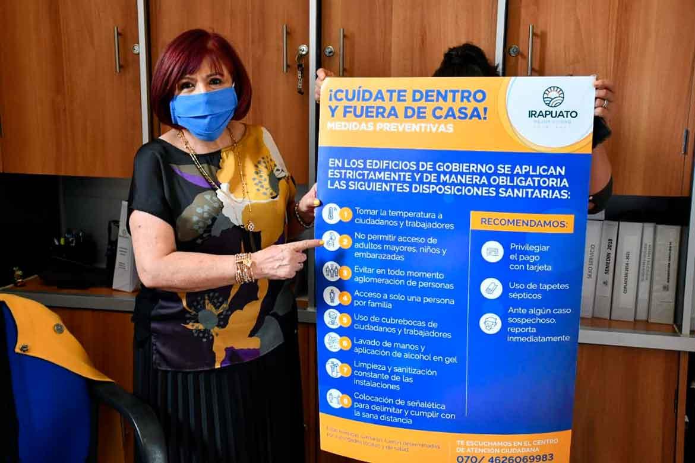 Photo of Colocarán en edificios públicos decálogo de medidas sanitarias