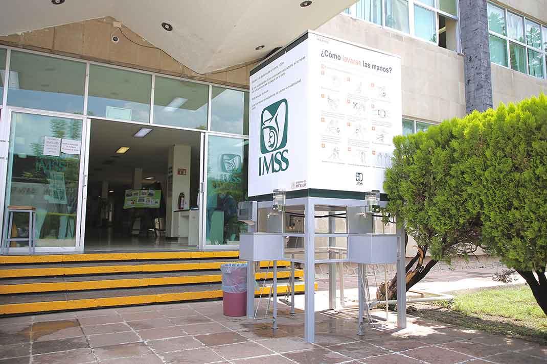 Photo of Instala IMSS Guanajuato estaciones de lavado de manos
