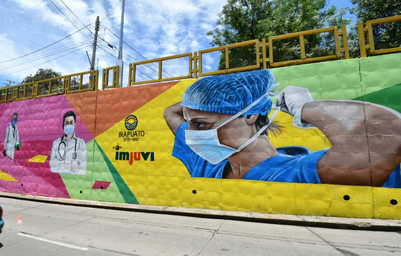Photo of Plasmarán jóvenes arte en murales