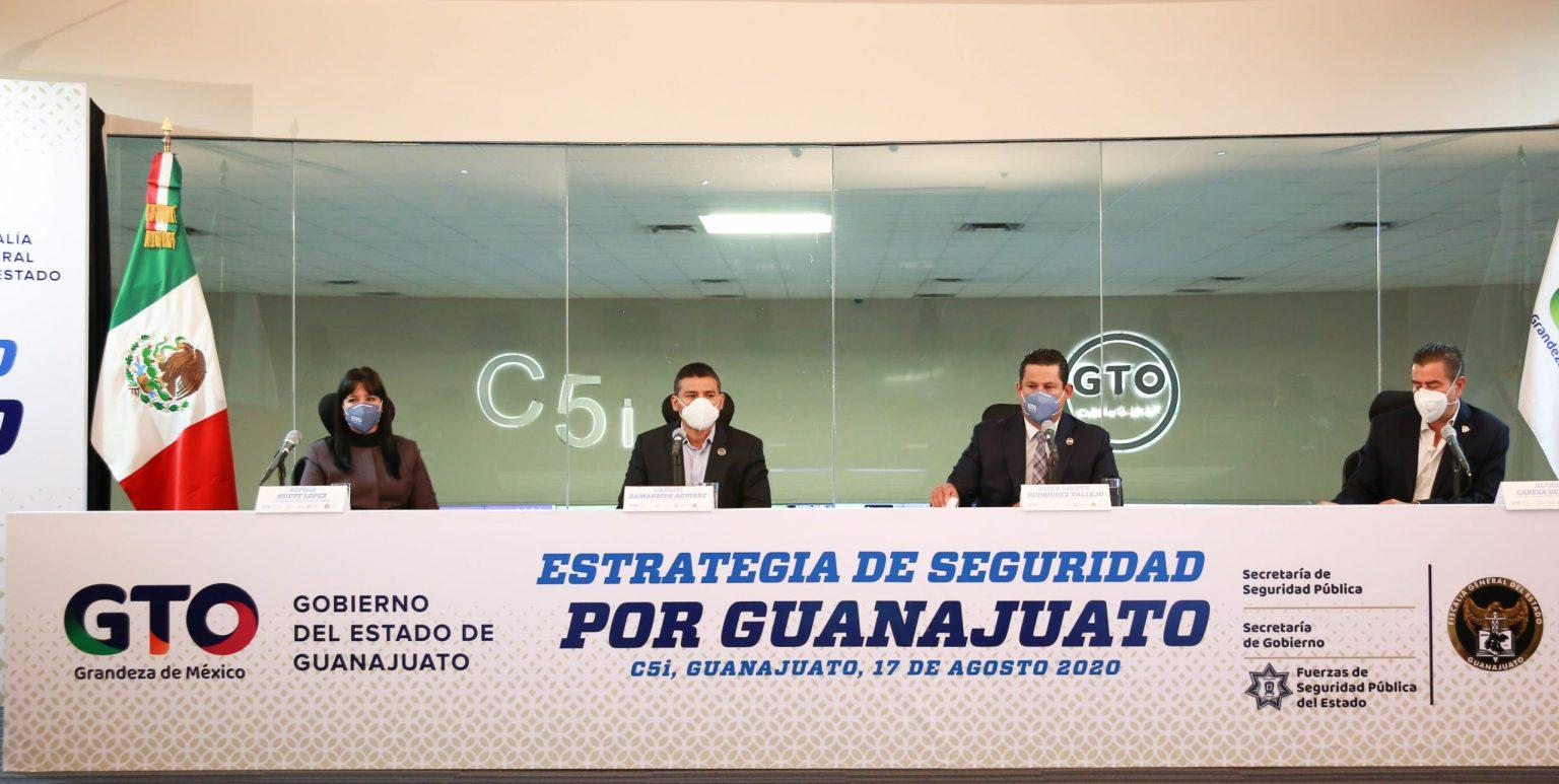 "Photo of Anuncia Gobernador Estrategia ""Por un Guanajuato Seguro"""