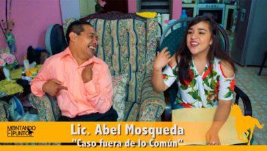 Photo of MONTANDO EL PUNTO entrevista a Abel Mosqueda un «Caso Fuera de lo común»