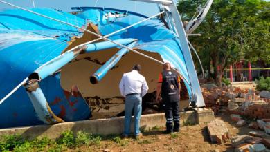 Photo of Atienden colapso de tanque elevado